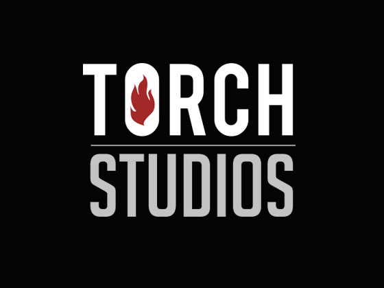 Torch Studios Logo on Black