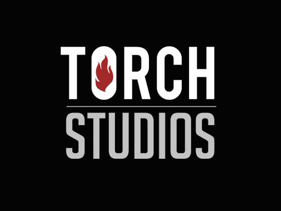 Torch Studios Logo on Black
